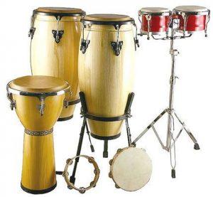 Latin music drums