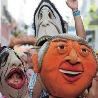 Fiestas Calle San Sebastian Cabezudos