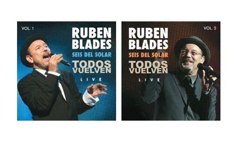 """Ruben Blades in cover of """"Todos Vuelven Live"""""""