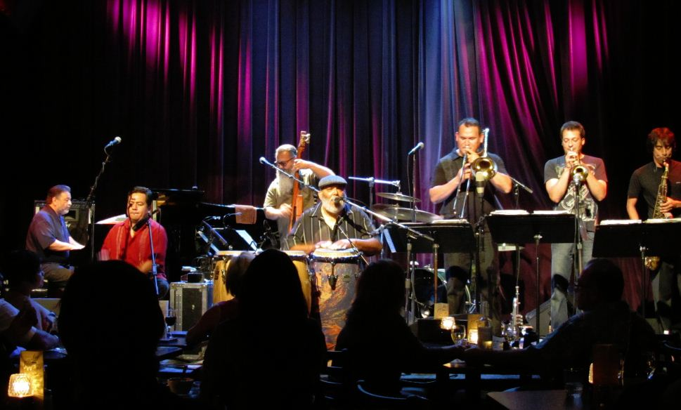 Poncho Sanchez at the Jazz Alley