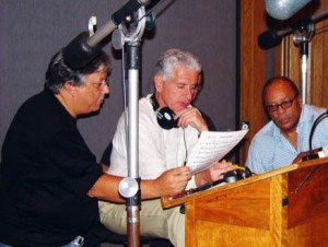 "Arturo Sandoval working on ""Dear Diz"" for Best Jazz Large Ensemble album"