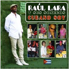 "Raul Lara in ""Soy Cubano"" album cover"