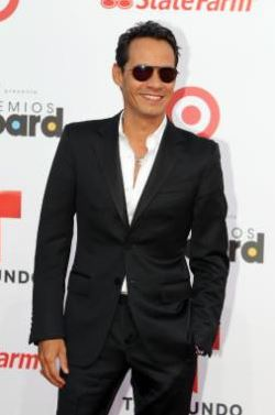 Marc Anthony at the Billboards Latin Music Awards