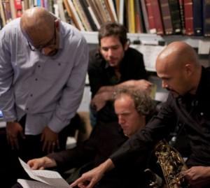 Miguel Zenon and his Jazz quartet at the Village Vanguard.
