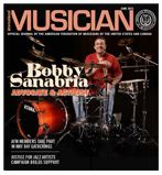 Latin music maestro Bobby Sanabria in the June 2013 cover.