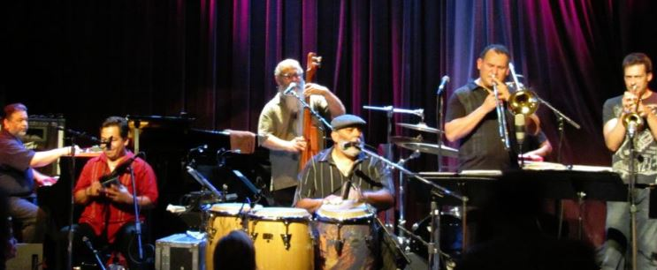 Poncho Sanchez Latin Jazz Band in Seattle's Jazz Alley cover