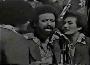 Charlie Aponte entró en 1973 para sustituir al popular cantante  Pellín Rodriguez.