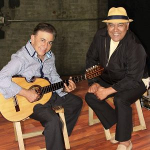 "Nelson Gonzalez and Danny Rivera on Boleros album ""Obsesion""."