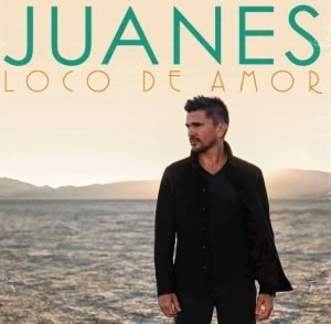 "Juanes ""Loco de Amor"" is his 6th studio album and climbed to #1 in Billboard's Latin Pop Albums."