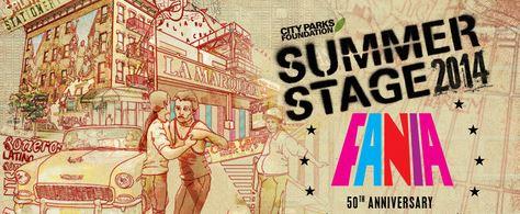 Fania 50th Anniversary Summer Stage 2014 art.