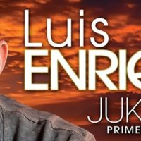 "Salsa music Luis Enrique front view of his ""Jukebox"" CD cover art."