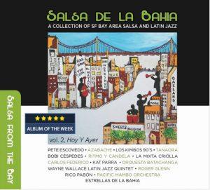 """Salsa de la Bahia Vol. 2 """"Hoy y Ayer"""" album cover"""