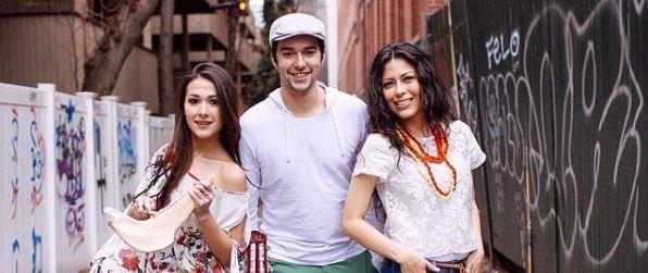 3 Suducas Bekerlee School of Music students Nella Rojas, Esther Rojas, and Eduardo Mercuri.