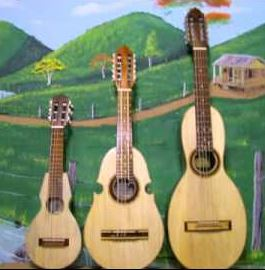 the tiple cuatro and bordona are the typical puerto rican guitars used in folk music - Puerto Rican Christmas Music