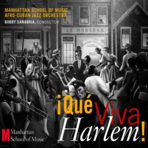 Que Viva Harlem Afro Cuban Latin jazz album cover