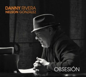 "Danny Rivera on the studio of ""Obsesion"""