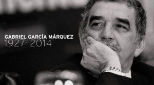 Colombia writer Gabriel Garcia Marquez