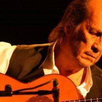 Paco de Lucia the Flamenco guitarist from Spain