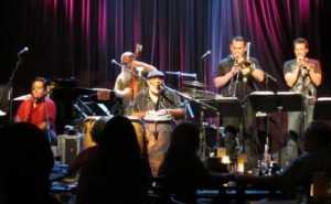 Poncho Sanchez with his Latin Jazz band at Seattle's Jazz Alley
