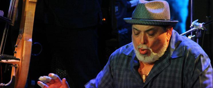 Poncho Sanchez playing Latin Jazz