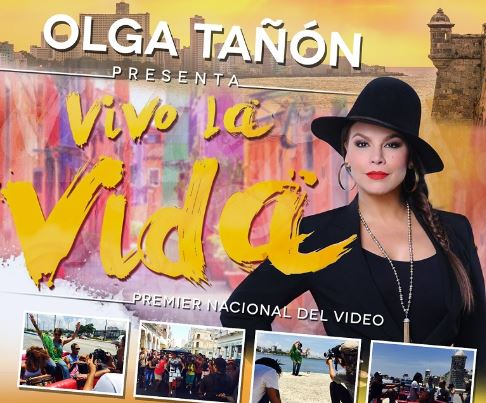 Puerto Rican Singer Olga Taon Released The Video For Pop Merengue Vivo La Vida On Aug 17 Via Telemundo