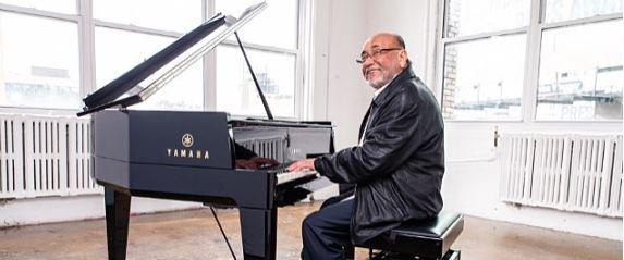 Salsa and Latin Jazz maestro Eddie Palmieri at piano