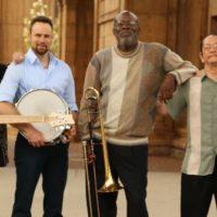Latin Jazz trombonist Wayne Wallace with his Latin Jazz Quintet