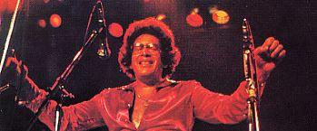 """Ray Barretto on the cover of """"Barretto"""" Salsa album"""