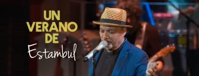 """Salsa songwriter Omar Alfanno performs the single """"Verano de Estambul"""""""