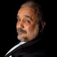 Willie Colon with his trombone