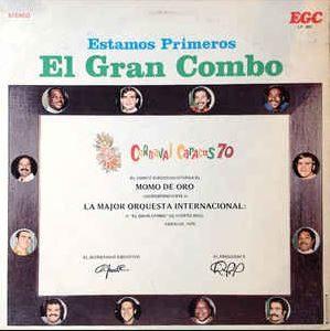 """El Gran Combo """"Estamos Primeros"""" cover"""