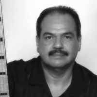 Salvador Cuevas with bass guitar and double bass