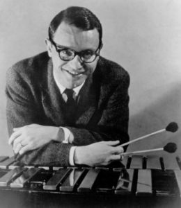 Cal Tjader with vibraphone.