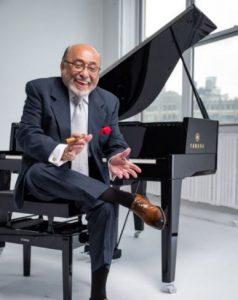 """Eddie Palmieri with piano in """"Sabiduría"""""""