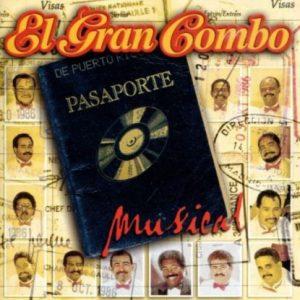 """El Gran Combo """"Pasaporte Musical"""" cover art."""