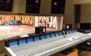 The UCLA new recording studio.
