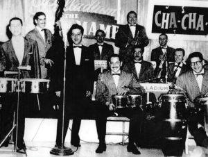 Tito Puente with Santos Colon