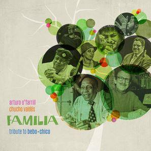 Chico O'Farrill and Bebo Valdes in Familia jazz album