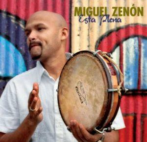 Miguel Zenon with pandereta de plena