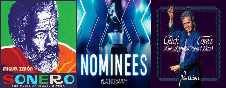 Latin Grammy 2020 Sonero and Antidote covers